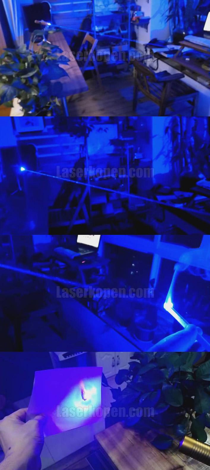 blauwe laserpen