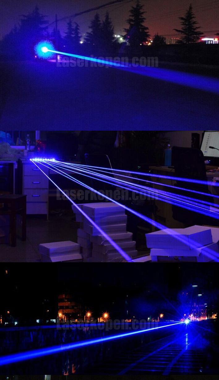 blauwe laser