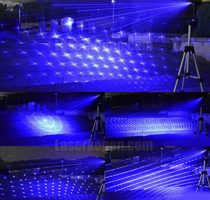 krachtige blauwe laserpen