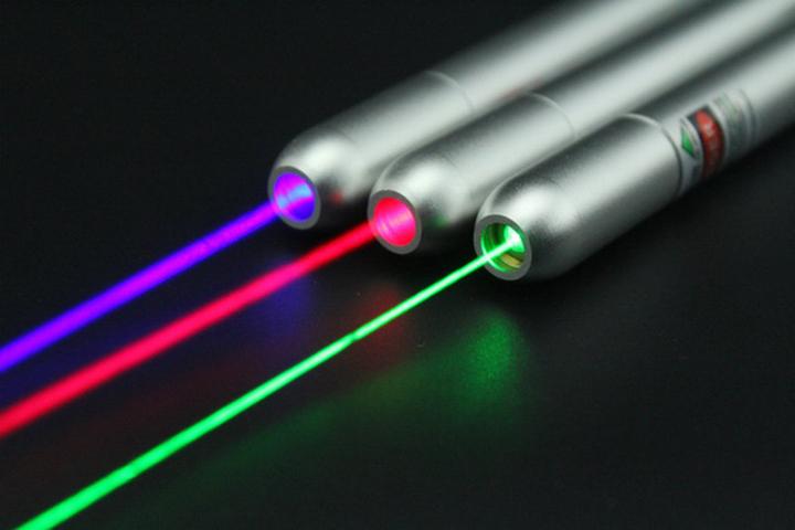 Laser blauw