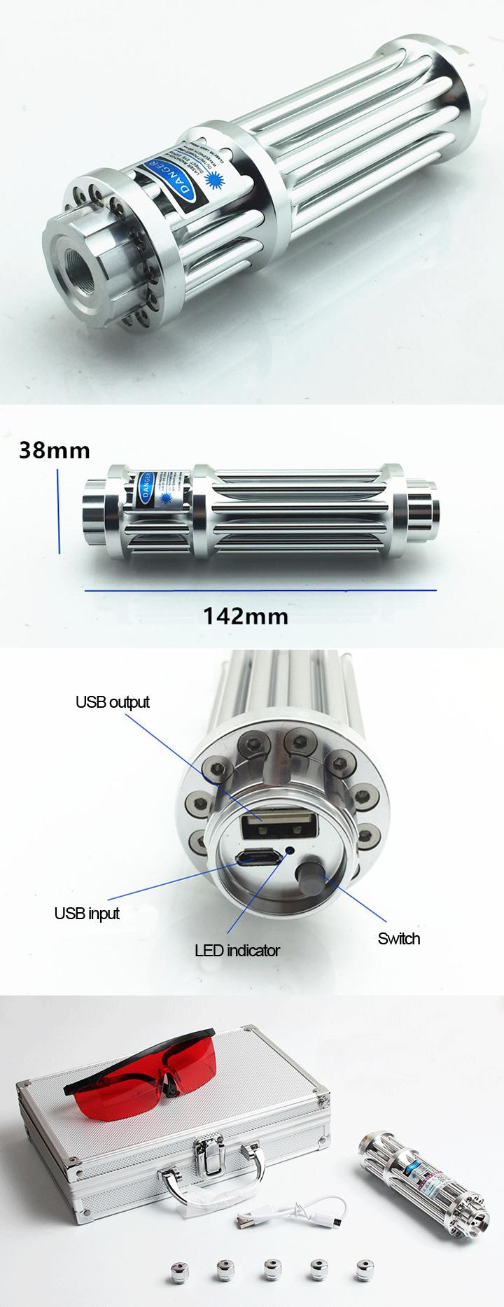 USB laser pointer