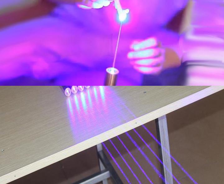 blauw-violet laser