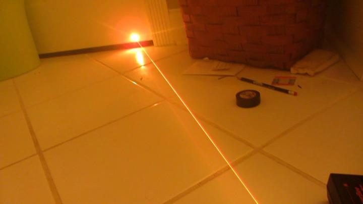 gele laserpen