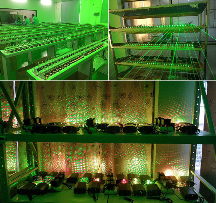 laser projector kerst