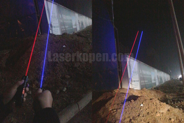 oranjerode laserpen
