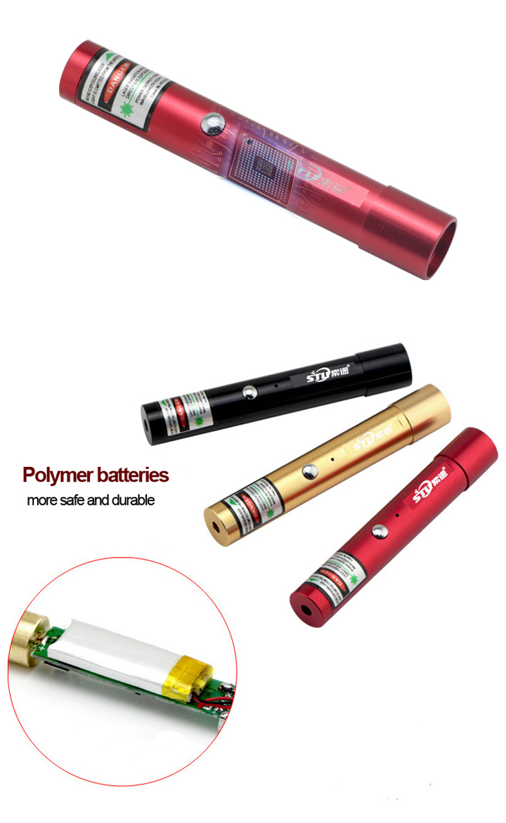 USB laser pointer