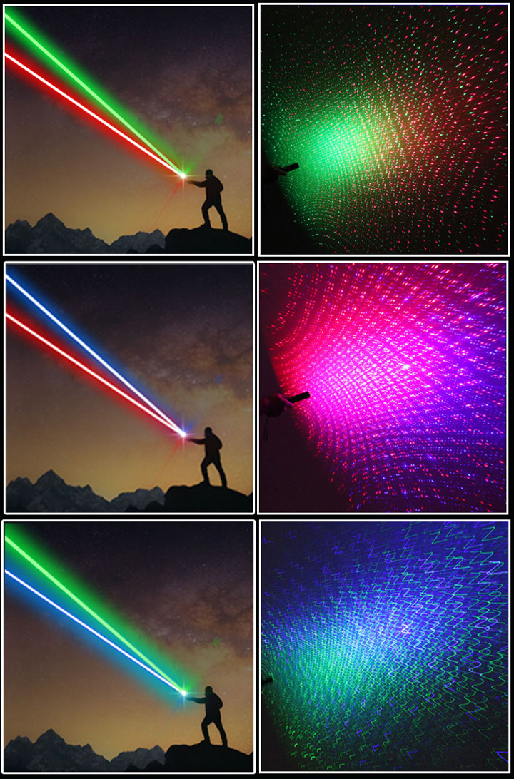 Kleuren Laser Pointer